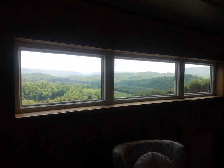 Views from Bridal Loft