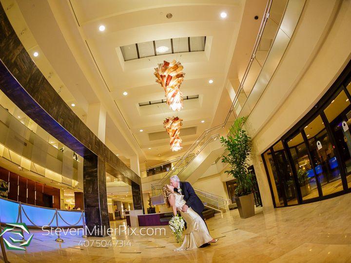Tmx 1512584409244 Hilton Lbv Couple Kissing In Lobby Orlando, FL wedding venue