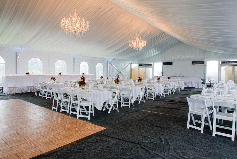 White House Tent dance floor
