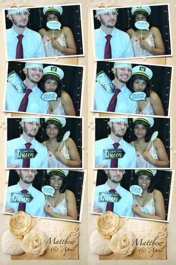 Photo booth print