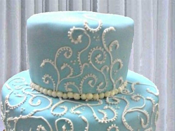 Tmx 1266364809241 Blueandwhitescrollsedit Indianapolis wedding cake