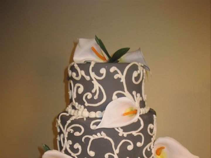 Tmx 1266365015756 IMG7959 Indianapolis wedding cake