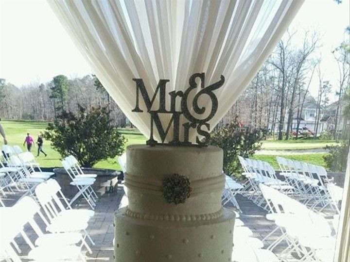 Tmx 1478622194223 Mr Mrs Egg Harbor City, New Jersey wedding cake
