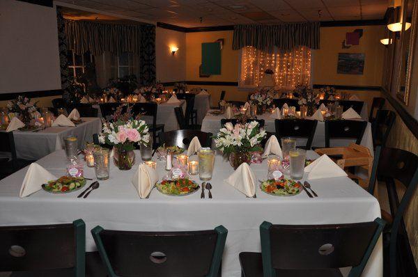 On-site Wedding Reception