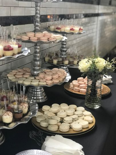 Beautiful wedding desserts