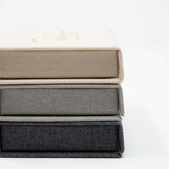 Different color boxes