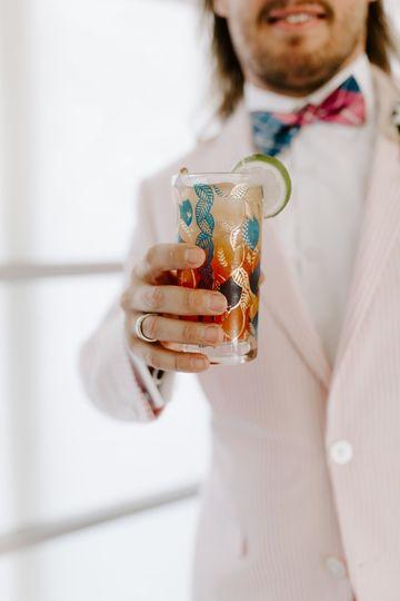 Drink Slingers Wedding Bartend