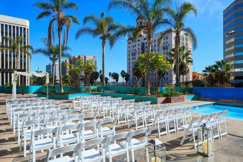 Pool Ceremony