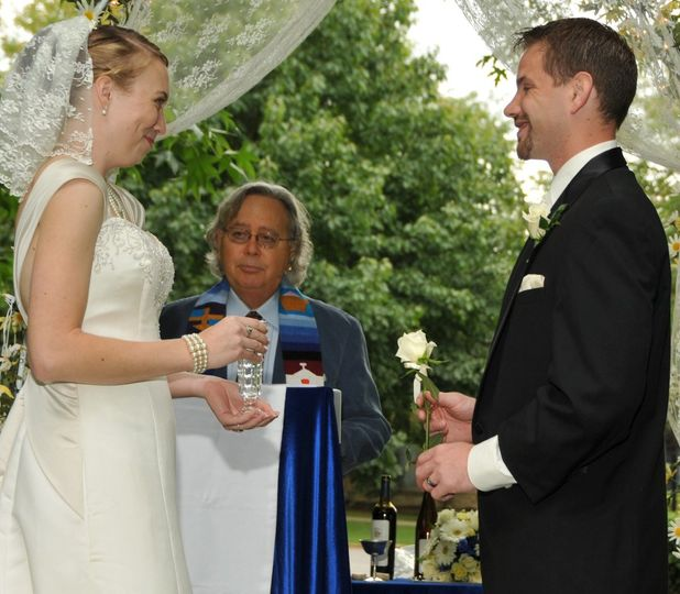 Outdoor wedding at Pere Marquette