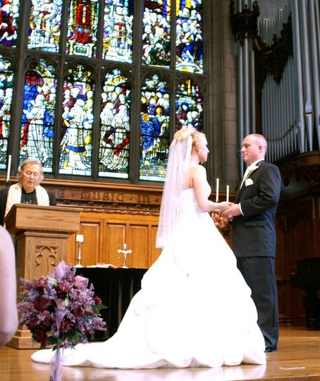 As ordained ministers we can perform your wedding ceremony in a variety of churches, like this one...
