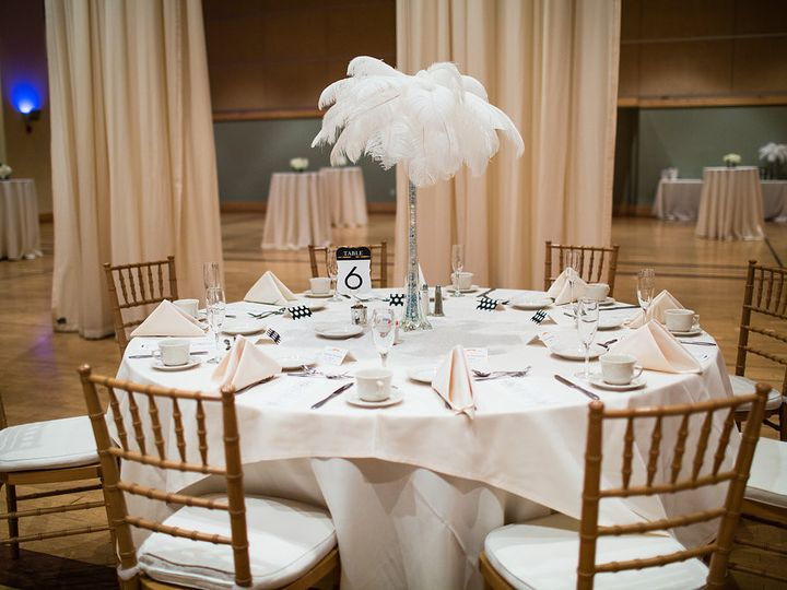 Tmx 1440620433130 Curtain Columns With Cocktail Tables Pittsburgh, PA wedding venue