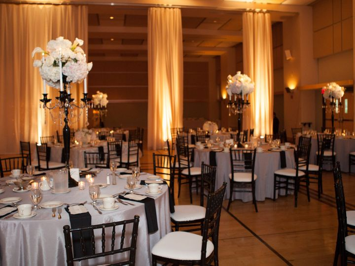 Tmx 1485362379721 Curtain Columns With Uplight Pittsburgh, PA wedding venue