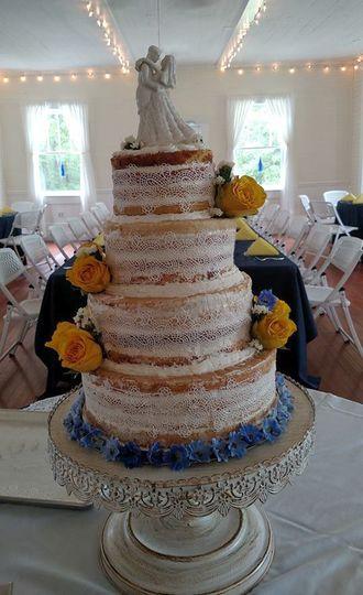 cakeweddingnaked