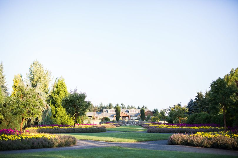 Oregon Garden Resort ground