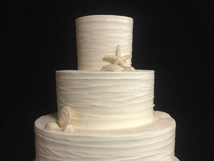 Tmx 1498935019217 Wedding Cakes Beachy 5 Northfield, New Jersey wedding cake