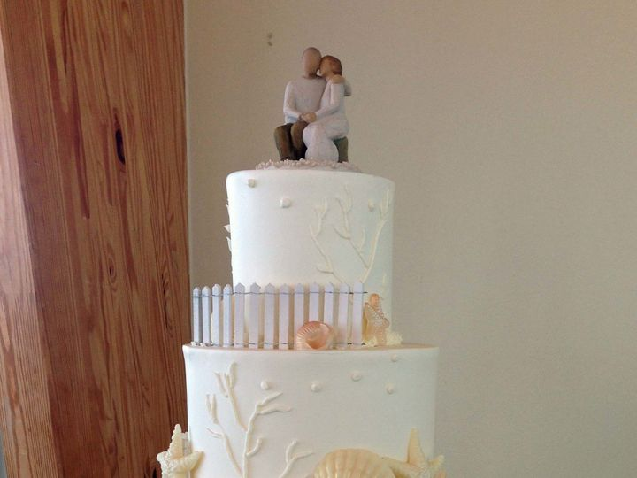 Tmx 1498935146804 Wedding Cakes Beachy 39 Northfield, New Jersey wedding cake