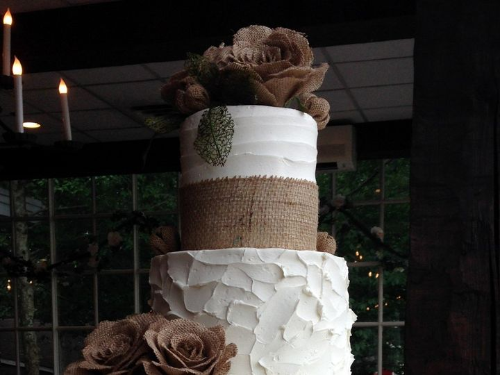Tmx 1498935283924 Wedding Cakes Burlap 1 Northfield, NJ wedding cake