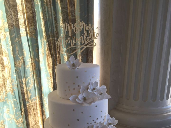 Tmx 1498935489145 Wedding Cakes Fondant Dots 7 Northfield, NJ wedding cake