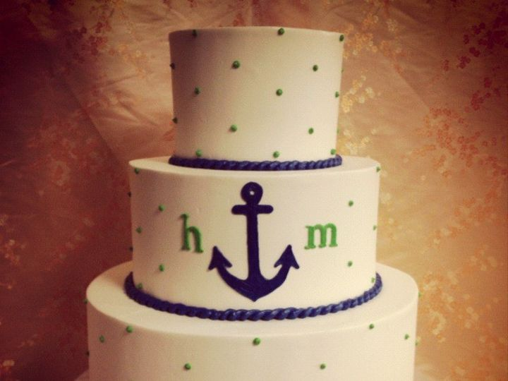 Tmx 1498935685905 Wedding Cakes Nautical 3 Northfield, NJ wedding cake