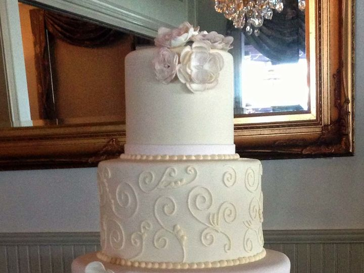 Tmx 1498935730907 Wedding Cakes Swirls 8 Northfield, New Jersey wedding cake