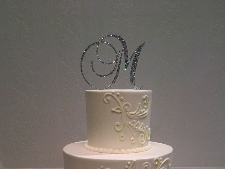 Tmx 1498935785131 Wedding Cake Piping 18 Northfield, NJ wedding cake