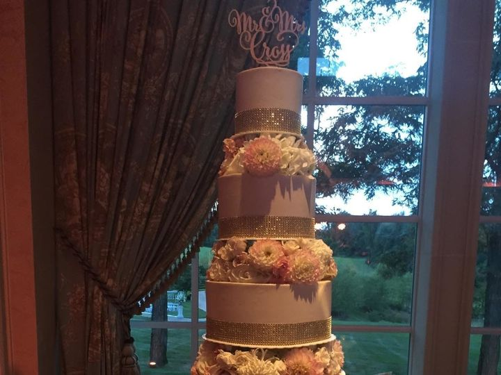 Tmx 1498935808317 Wedding Cakes Ribbons 13 Northfield, NJ wedding cake