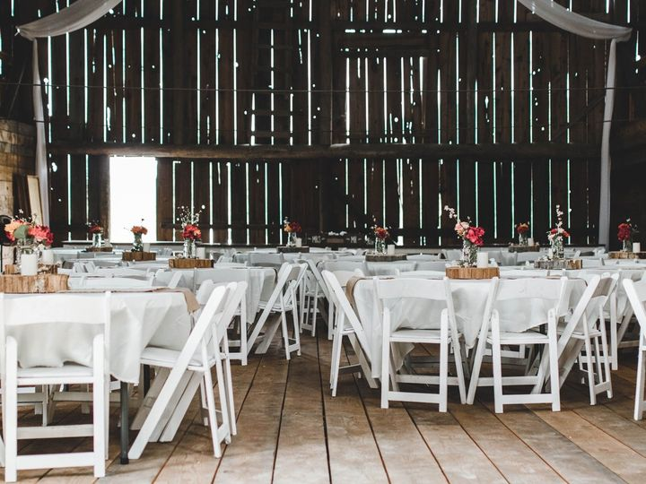 Tmx Barn Round Tables 51 1756949 158360947223201 Cusick, WA wedding venue