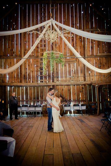 The Barn's dance floor