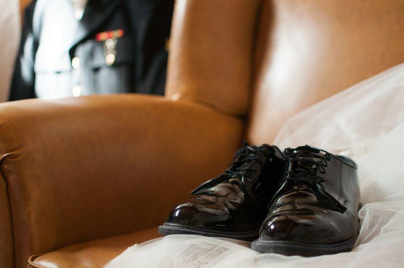 dress blues groom details