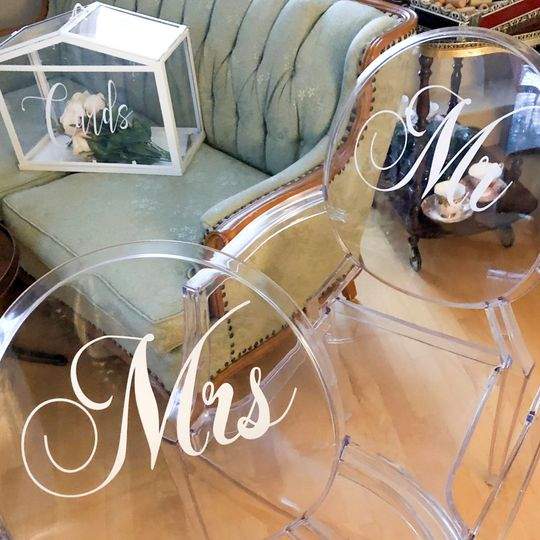 Couple's Ghost Chairs