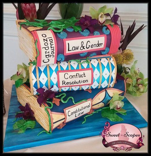 Brauckner Engagement Cake 1