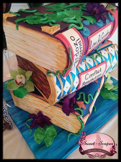 Brauckner Engagement Cake 2
