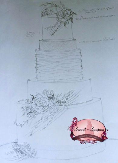 Scott Cake Sketch