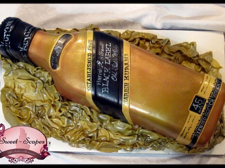 Tmx 1429051358967 Black Label Cake W Logo Rockaway, NJ wedding cake