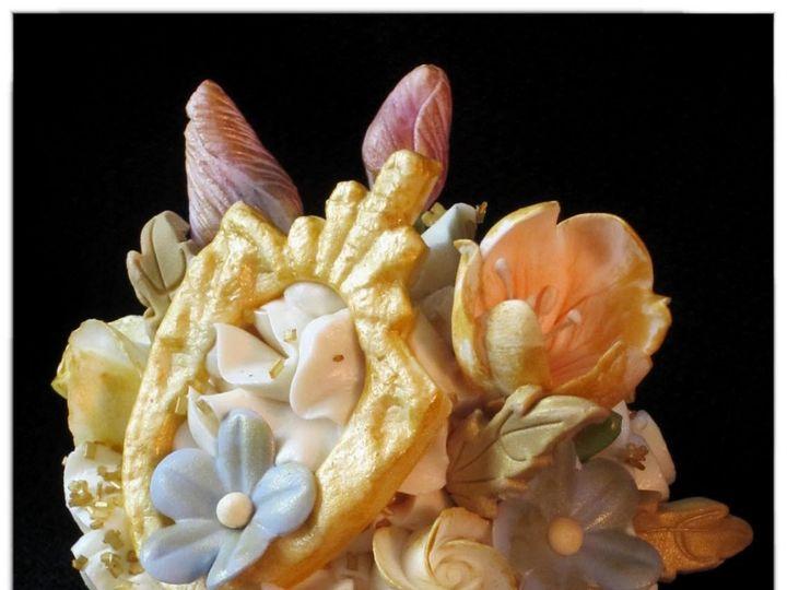 Tmx 1429051528403 Vintage Victorian Cupcake 3 W Logo Rockaway, NJ wedding cake