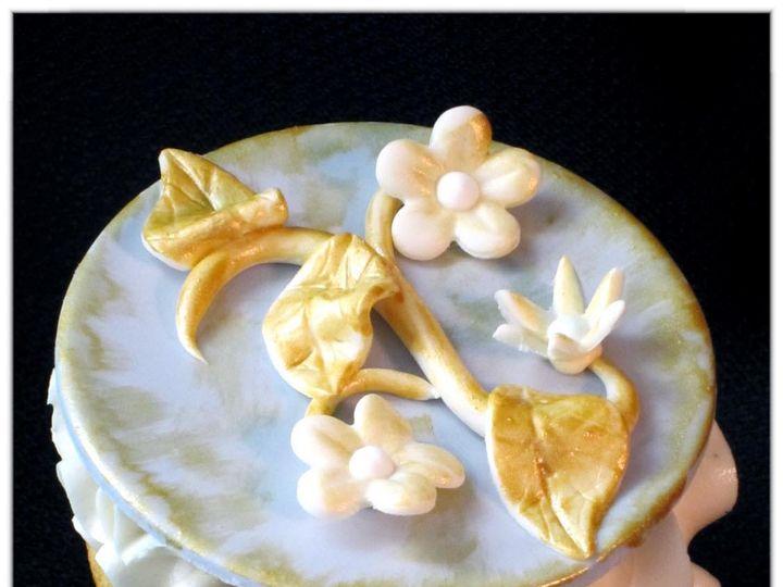 Tmx 1429051547495 Vintage Victorian Cupcake 6 W Logo Rockaway, NJ wedding cake