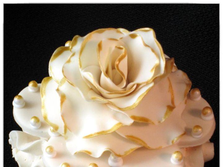 Tmx 1429051575502 Vintage Victorian Cupcake 10 W Logo Rockaway, NJ wedding cake