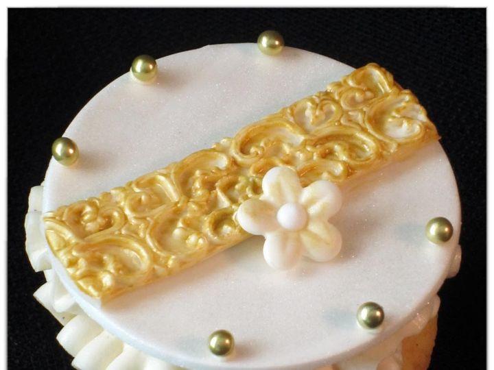 Tmx 1429051589165 Vintage Victorian Cupcake 12 W Logo Rockaway, NJ wedding cake