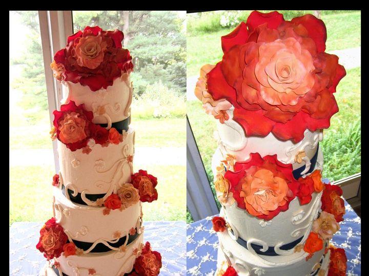 Tmx 1429051953112 Clemente Natirar Cake W Logo Rockaway, NJ wedding cake
