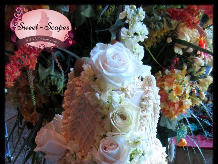 Tmx 1429051973636 Meadow Manor Buttercream Cake W Logo Rockaway, NJ wedding cake
