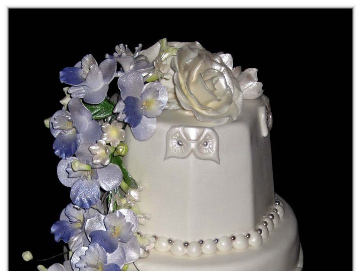 Tmx 1429051999364 Trump National Cake W Logo Rockaway, NJ wedding cake