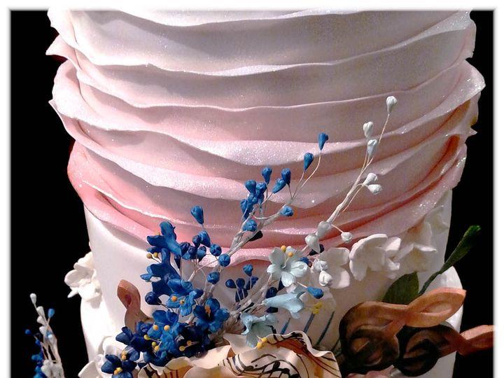 Tmx 1429052160963 Scott Wedding Cake Closeup 1 Rockaway, NJ wedding cake