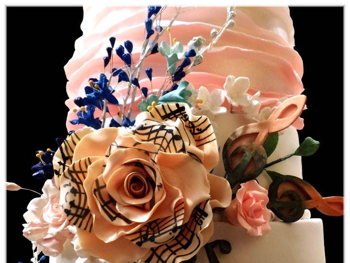 Tmx 1429052166744 Scott Wedding Cake Closeup 2 Rockaway, NJ wedding cake