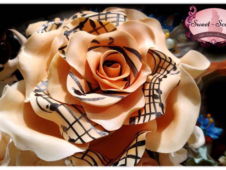 Tmx 1429052173248 Scott Wedding Cake Flower Topper Rockaway, NJ wedding cake