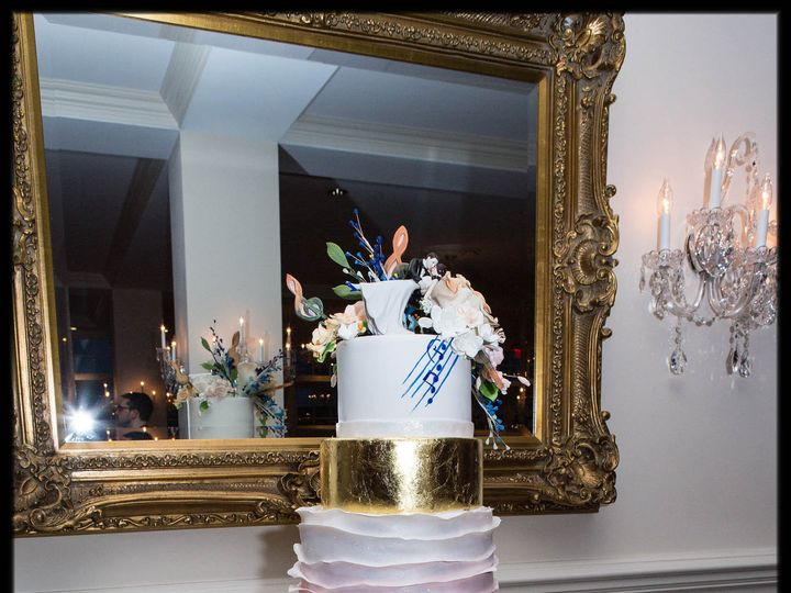 Tmx 1429052186223 Scott Wedding Cake Trump National Rockaway, NJ wedding cake