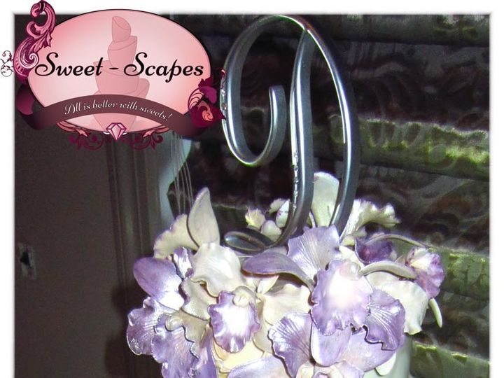 Tmx 1430439023986 Dugan Orchid Wedding Cake W Logo Rockaway, NJ wedding cake