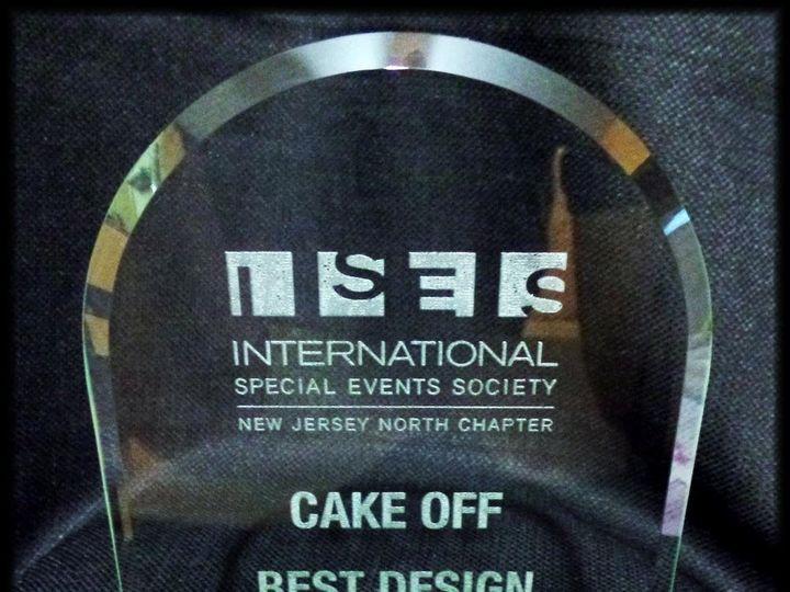 Tmx 1432913486716 1430436424284 Award With Logo Rockaway, NJ wedding cake