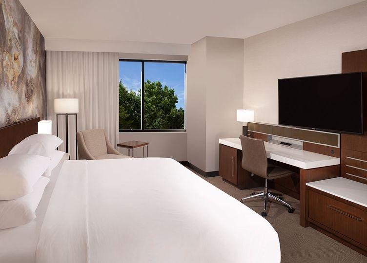 Single King Bedroom