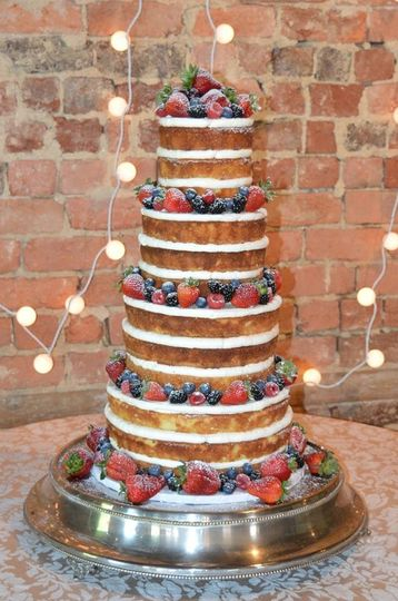 fruit wedding cake2