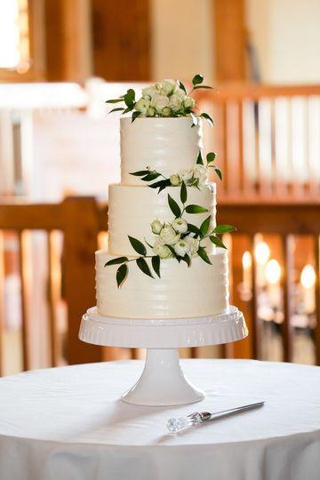 Fresh Baked Wedding Cake Roanoke Va Weddingwire